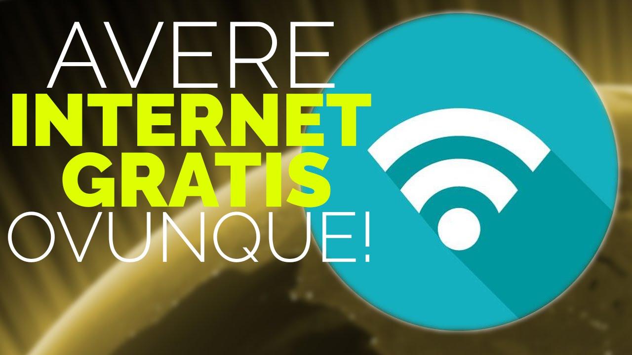 avere internet gratis iphone
