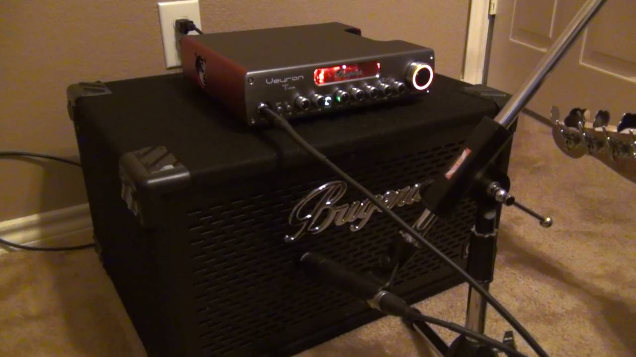 Bugera Veyron T BV1001T head and Bugera BT210TS First Impressions ...