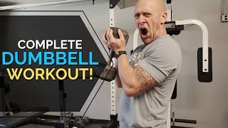 Complete Home Dumbbell Workout!