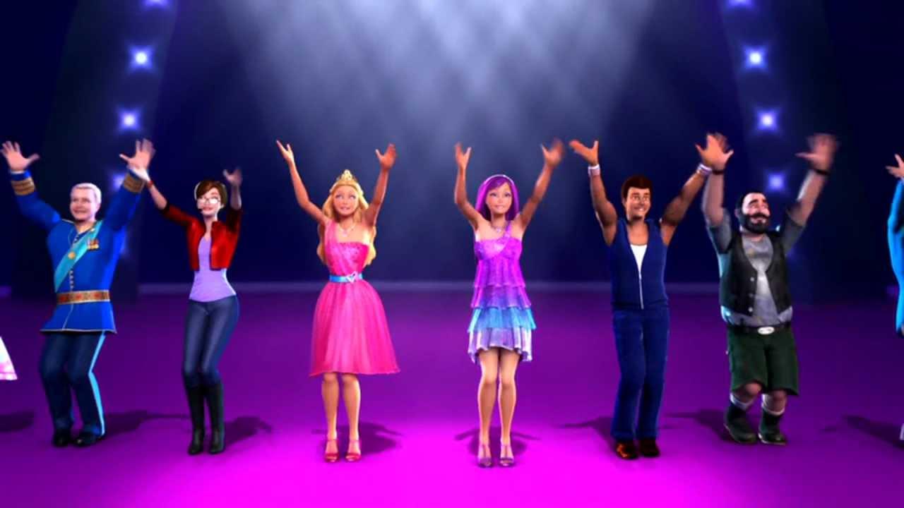 Barbie a princesa e a pop star dia perfeito youtube - Jeux de barbie popstar ...
