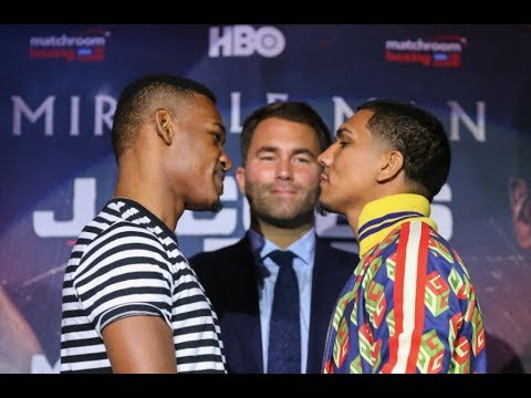 Live Stream: Jacobs vs. Arias Official Weigh-In – Friday, Nov. 10 at 1pm ET/10am PT
