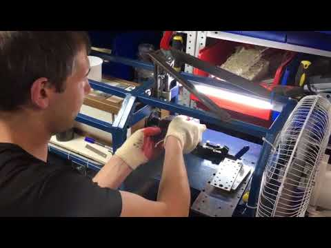 Литье на станке МиниТПА-100 в ручном режиме