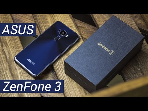 ASUS ZenFone 3: стекло и дзэн. Распаковка и краткий обзор ASUS ZenFone 3 ZE520KL от FERUMM LIVE