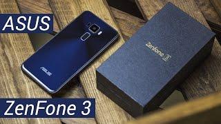 ASUS ZenFone 3: скло і дзен. Розпакування та короткий огляд ASUS ZenFone 3 ZE520KL від FERUMM LIVE