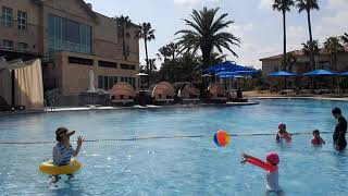 토스카나호텔 야외온수풀수영장