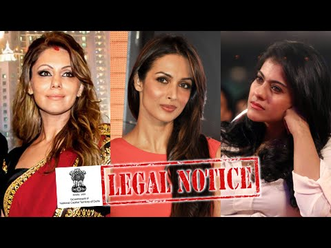 Gauri Khan, Kajol, Malaika Arora Khan Gets Legal Notice From Delhi Government