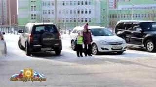 Урок безопасности (перед весенними каникулами 2018) ГИБДД Красноярска