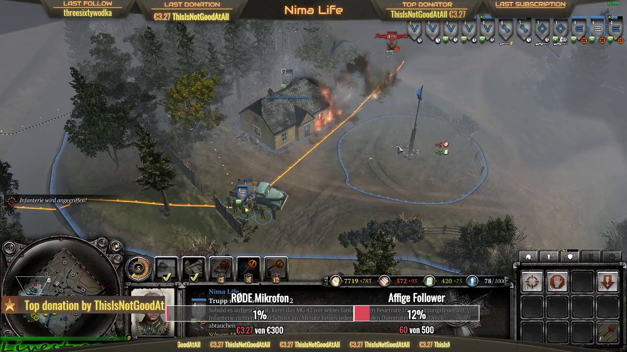 Company Of Heroes 2 Nimas Nachtstream Ab20 30 Uhr Am 25 01 2020