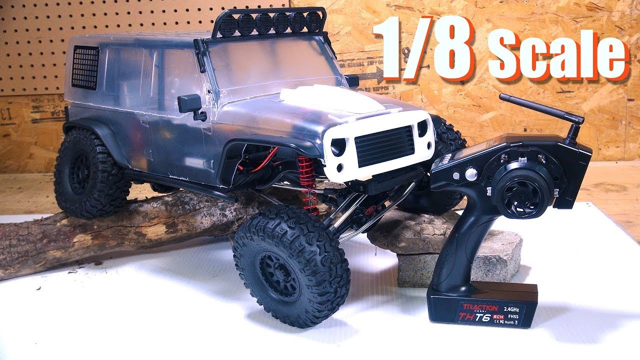 Rc Adventures Redefine Trail Crawling Unboxing A 1 8th Scale Cragsman 4x4 Traction Hobby Youtube