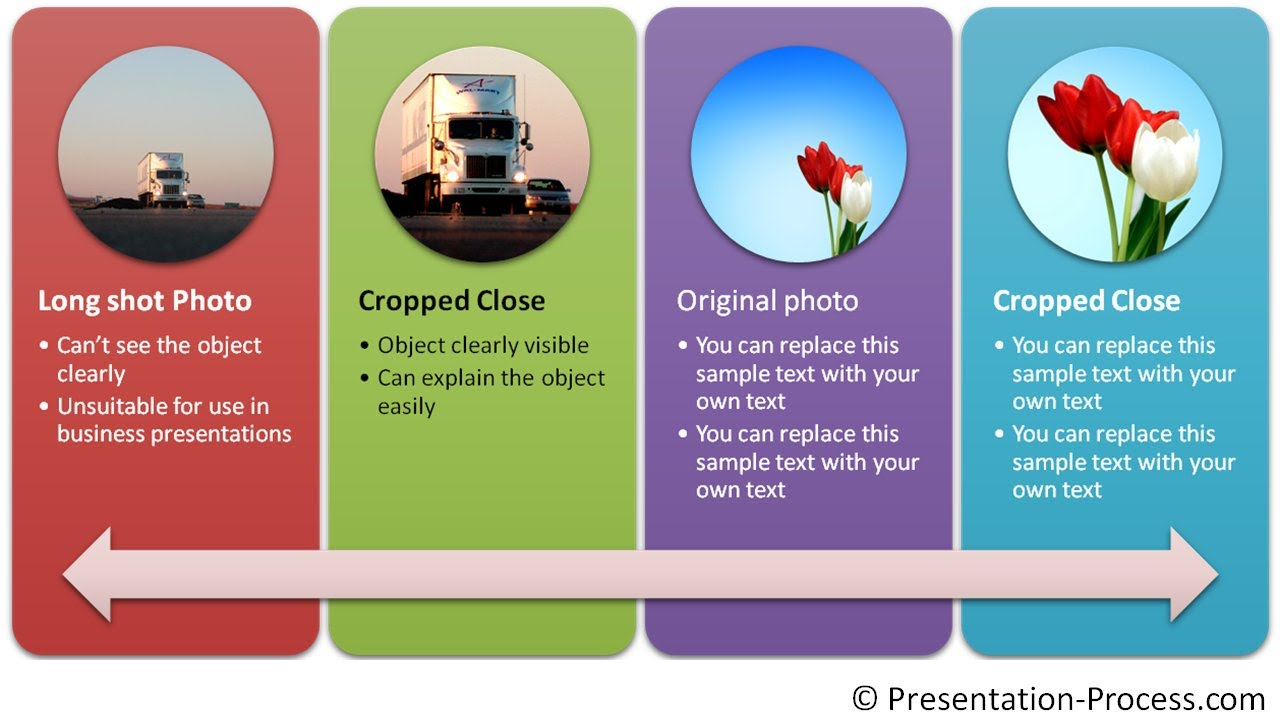 cropping smartart pictures powerpoint smartart series 30 youtube