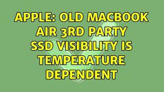 Apple: Old MacBook Air 3rd par…