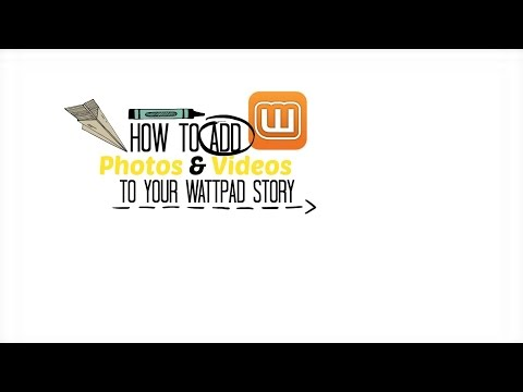 How To Add Photos & Videos To Your Wattpad Story (TUTORIAL)