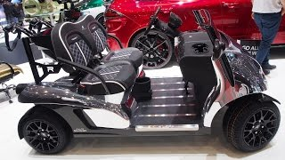 Garia's luxurious Mansory Currus Golf Car  -  Exterior and Interior Walkaround