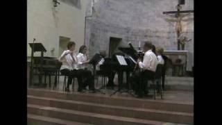Poulenc, Francis: Sextet for piano and wind instruments, III - Finale - Prestissimo