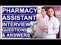 PHARMACY ASSISTANT Interview Questions and Answers! (Become a Dispensary Assistant)