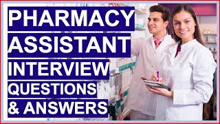 Pharmacy Assistant Interview Questions And Answers Become A Dispensary Assistant Youtube