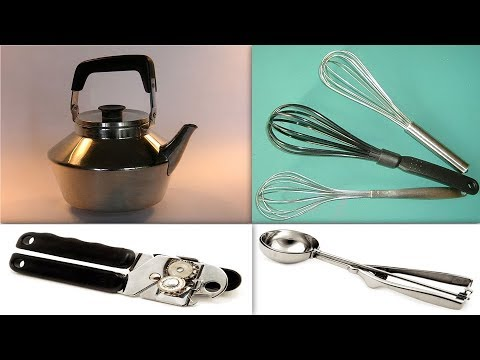 Kitchen Utensils - Learn Easy English Words - English Vocabulary Building