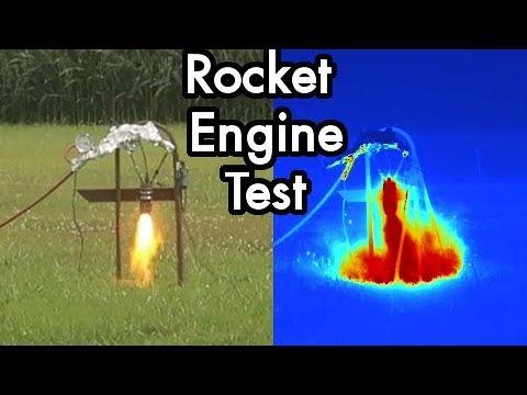 DIY Liquid Fueled Rocketry 08: Gaseous Rocket Engine Test GOX / Propane Ignition Success!