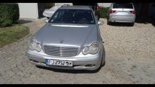 Mercedes uchun Brava bo'yicha ta'mirlash C-Class w203