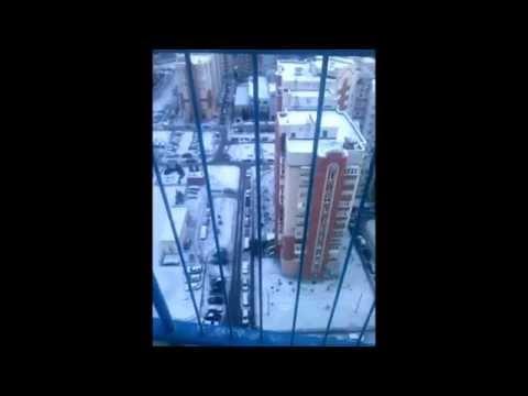 Сброс samsung с 25 этажа