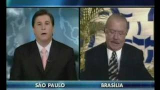 SBT Exclusivo: Carlos Nascimento entrevista o presidente do senado José Sarney — 28 09 2009
