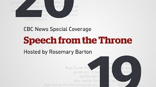 CBC News Special: Speech from the Throne