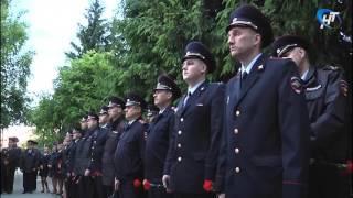 Новгородские полицейские провели акцию «Завтра была война»