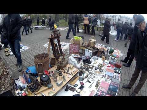Блошиный рынок в Казани