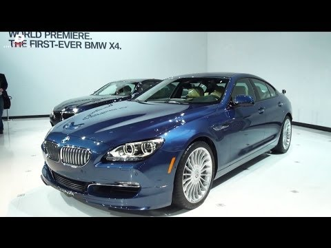 2015 BMW Alpina B6 XDrive Gran Coupe - NYIAS