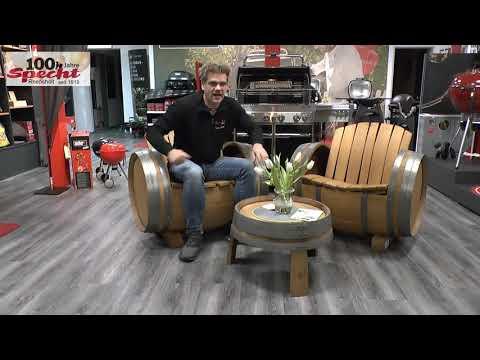 Specht Reepsholt Angebot Sitzgruppe Weinfaß