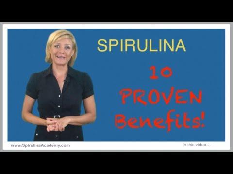 Spirulina Health Benefits - how to use spirulina and what is spirulina