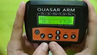 Обзор блока металлоискателя Квазар АРМ g1910 на новой плате версии 0.6