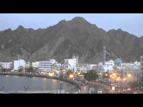 Muscat Corniche at Call to Prayer, Oman