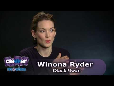 Winona Ryder black swan scene