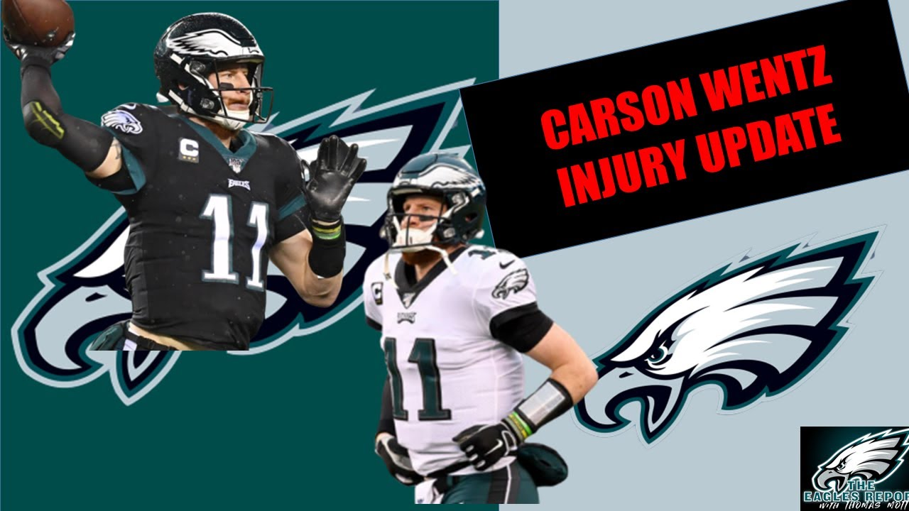Eagles News Carson Wentz Injury Update Was Clowney S Hit Dirty Josh Mccown Audible On Last Sack Youtube