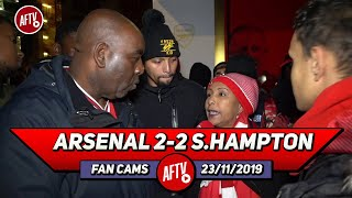 Arsenal 2-2 Southampton | Emery Is A Clown & Our Stadium Is A Circus!