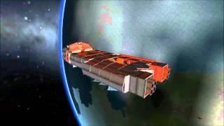 KSP- Orion Class Space Cruiser