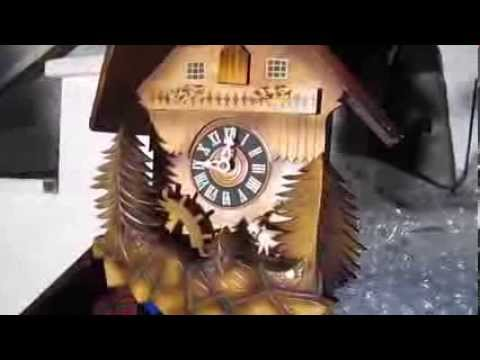 Black Forest Cuckoo Clock with music box