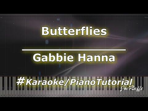 Gabbie Hanna - Butterflies KaraokePianoTutorialInstrumental