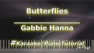 Gabbie Hanna - Butterflies (Karaoke/PianoTutorial/Instrumental)