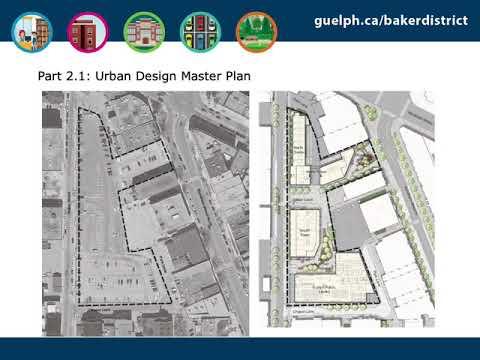 Urban Design Master Plan for the Baker District redevelopment report