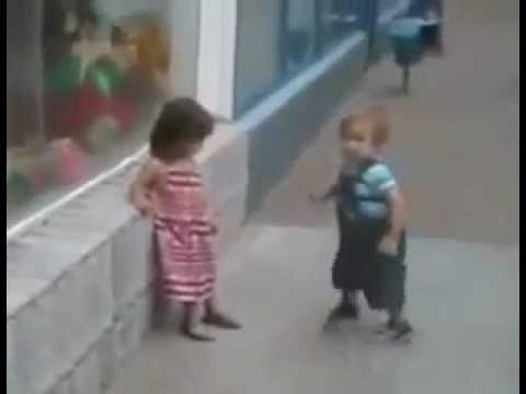 Funny Boy And Girl Baby Funny Video : B...