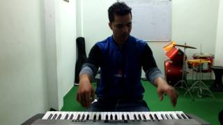 Dilwale Theme Tune Piano Cover by Vaibhav Sharma, JND Music World