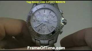 tag heuer mens link watch instructions