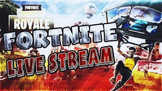 FORTNITE BATTLE ROYALE!!! Come watch me get destroyed!