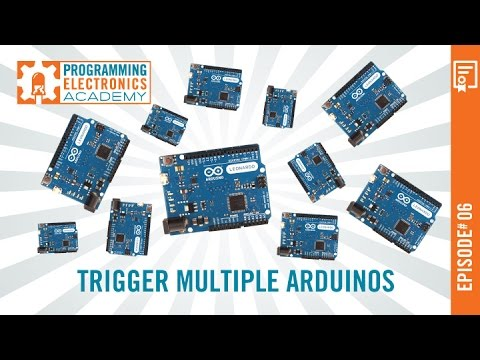 Using the Same Input to Trigger Multiple Arduinos - Programming
