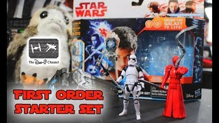 Star Wars The Last Jedi | First Order Starter Set Force Link | ToysRUs Exclusive | The Dan-O Channel