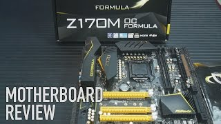 ASRock Z170M OC Formula Motherboard Review