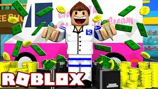 I GOT RICH SELLING ICE CREAM ON ROBLOX!!