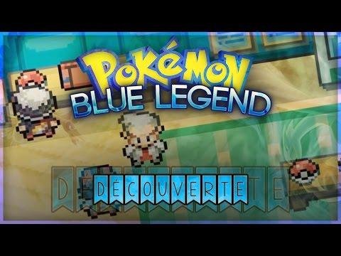 Pokémon Blue Legend : Découverte FR hack rom - Zyphoss